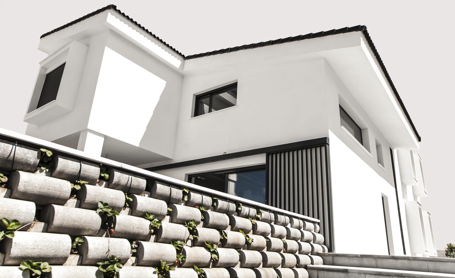 Vivienda nueva construida por Muntasil, empresa constructora en Granada
